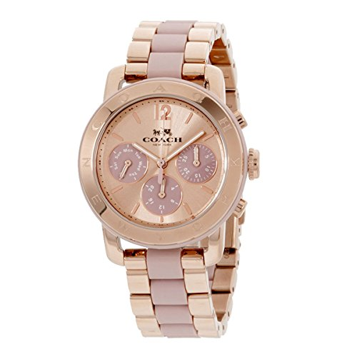 COACH Women's Legacy Sport 36mm Rose Gold One Size