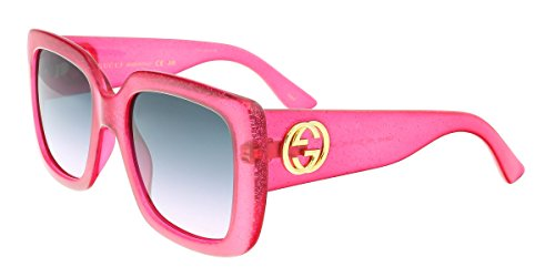 Sunglasses Gucci GG PINK/GREY