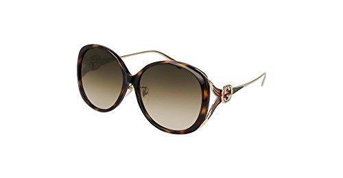 f20187575d7 Gucci HAVANA   BROWN GOLD Sunglasses Clout Wear