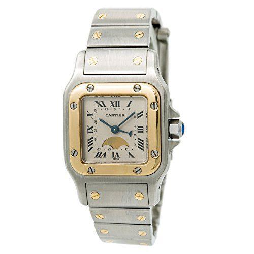 Cartier Santos Galbee Quartz Female Watch (Certified Pre-Owned)