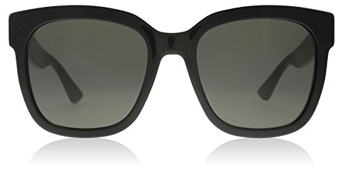Gucci Black Square Sunglasses Lens Category 3 Size 54mm