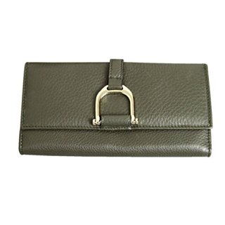 Gucci Women's Continental Clutch Greenwich Leather Wallet