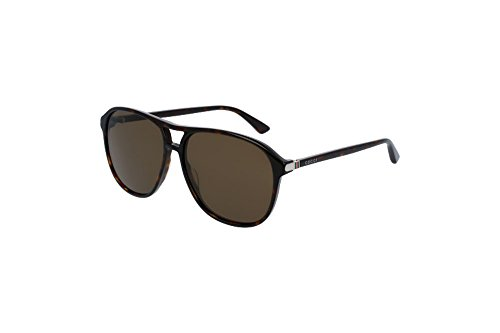 Gucci Fashion Sunglasses, 58/14/140, Avana / Brown / Avana