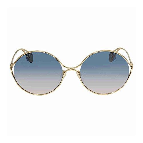 Gucci Bicolor Gradient Round Sunglasses