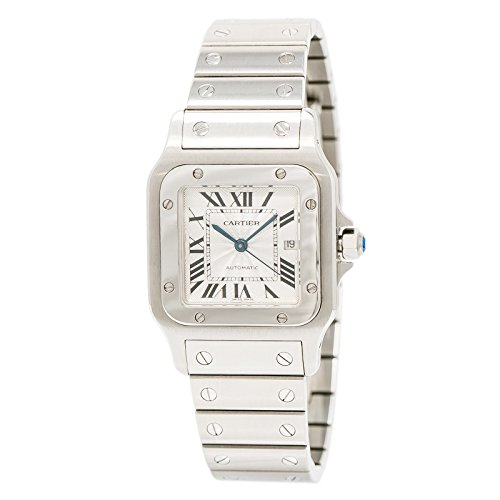 Cartier Santos Galbee Automatic-self-Wind Mens Watch 2319 (Certified Pre-Owned)