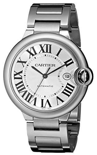 Cartier Men's Ballon Bleu Stainless Steel Automatic Watch