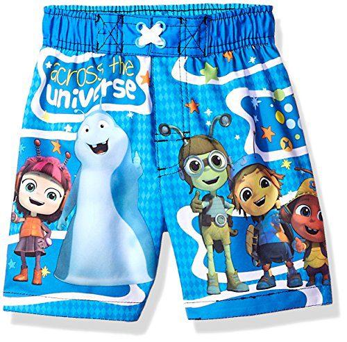 Dreamwave Toddler Boys' Beat Bugs Swim, Blue, 3T