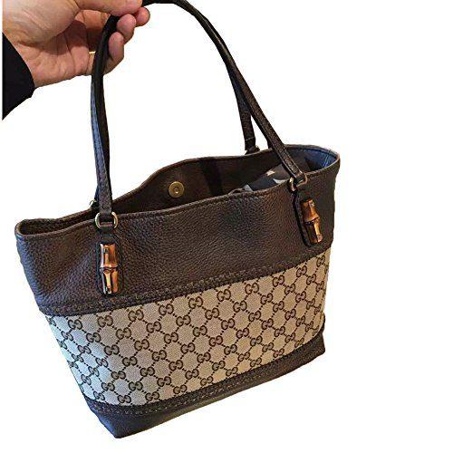 Authentic Gucci Leather Handbag