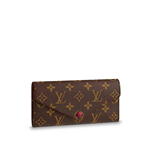 Louis Vuitton Monogram Canvas Fuchsia Josephine Wallet