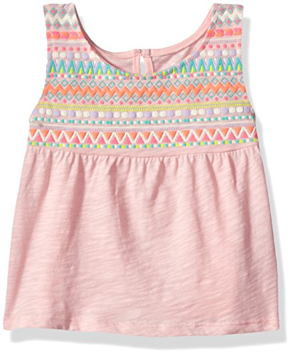 The Children's Place Baby Girls' Tank Top, Pink Rose, 4T