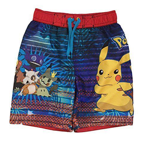 75365397ca Dreamwave Pokemon Big & Little Boys Swim Trunks (8) Clout Wear