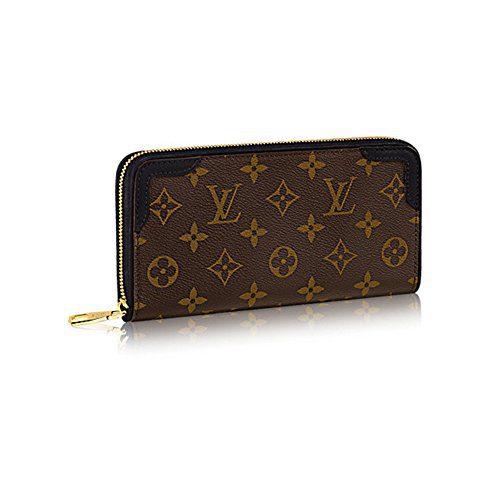 Authentic Louis Vuitton Monogram Canvas Zippy Wallet Retiro Article