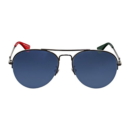Sunglasses Gucci RUTHENIUM / SILVER / RUTHENIUM