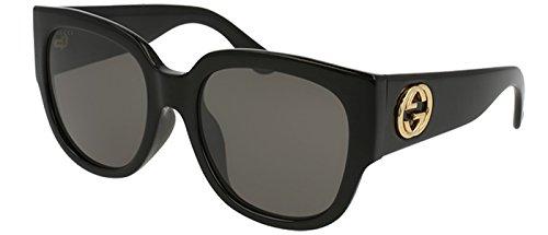 Gucci BLACK / GREY Sunglasses