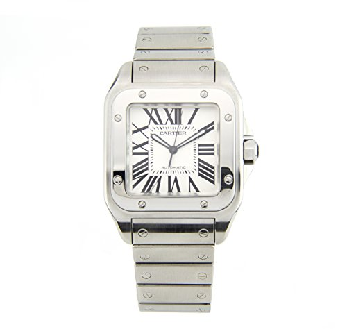 Cartier Santos 100 Stainless Steel Men's Watch 2656 (Certified Pre-owned)