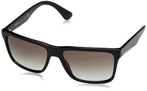 Prada Men's Black/Grey Gradient