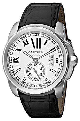 Cartier Men's De Cartier Leather Strap Watch
