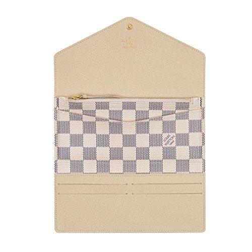 d4dd25443844 Home   Shop   Women   Accessories   Handbags   Wallets   Louis Vuitton  Damier Canvas Josephine Wallet Made in France