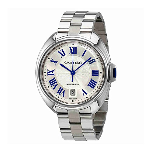 Cartier Cle Automatic Silver Dial Mens Watch