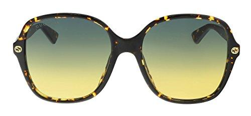 Gucci AVANA / GREY Sunglasses