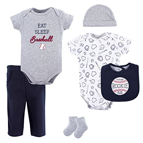 Hudson Baby Baby Multi Piece Clothing Set, Baseball Piece, 9-12 Months