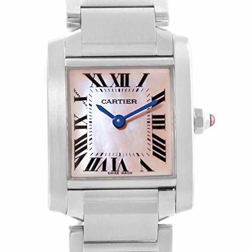Cartier Tank Francaise quartz womens Watch (Certified Pre-owned)