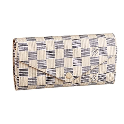 Louis Vuitton Damier Canvas Josephine Wallet Made in France