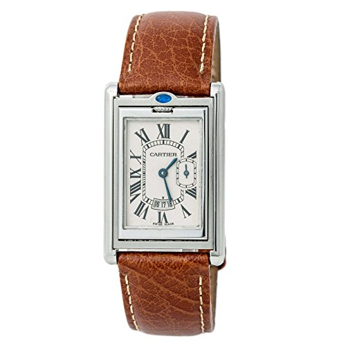 Cartier Tank Basculante Quartz Mens Watch (Certified Pre-Owned)