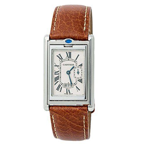 Cartier Tank Basculante Quartz Mens Watch (Certified Pre-Owned)