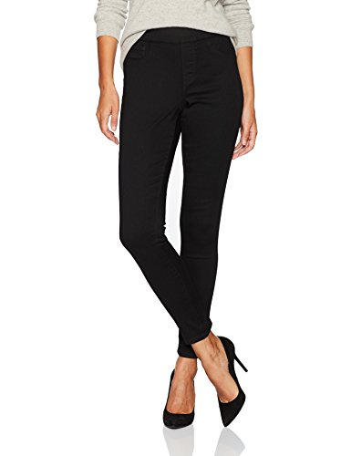 Bandolino Women's Thea Pull on Legging, Black Rinse, 12