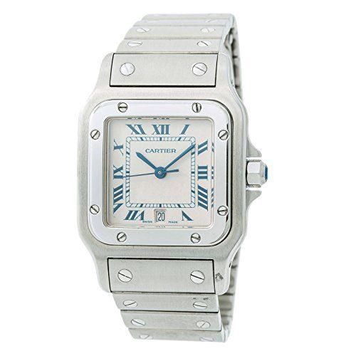Cartier Santos Galbee Quartz Male Watch (Certified Pre-Owned)