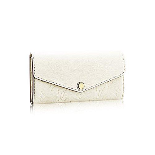 Authentic Louis Vuitton Monogram Leather Sarah Wallet Article