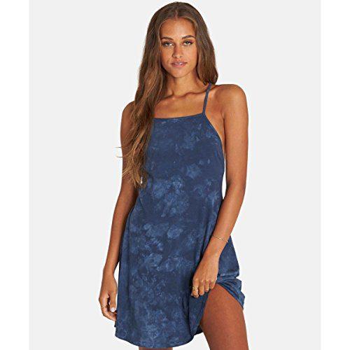Billabong Women's Shorebird Dress, Blue Tide, M