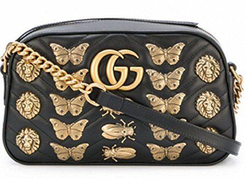 Gucci.Women's GG Marmont Medium Inclined Shoulder Bag