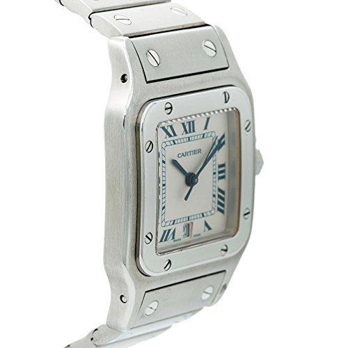 4a7a332d87e5 Home   Shop   Men   Watches   Cartier Santos Galbee Quartz Male Watch  (Certified Pre-Owned)