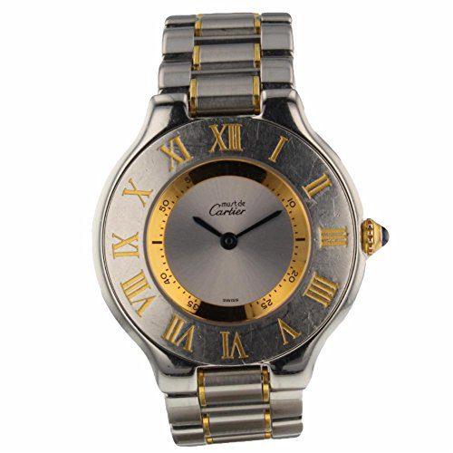 Cartier Must 21 Swiss-Quartz Female Watch (Certified Pre-Owned)