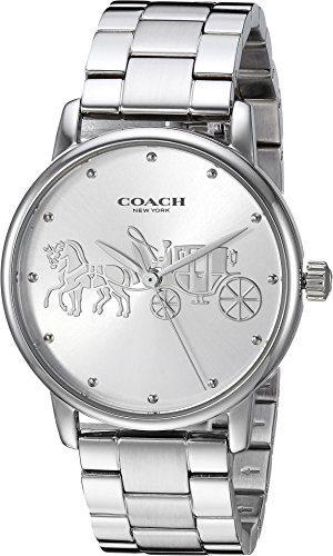 COACH Women's Grand Silver One Size