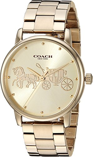 Coach Women's Grand Gold One Size