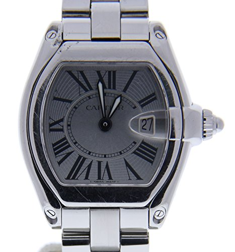 Cartier Roadster Automatic-self-Wind Female Watch (Certified Pre-Owned)