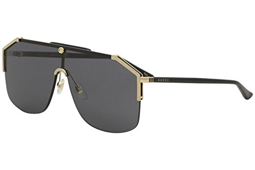 000df8f26ff Gucci gg0291s 100% Authentic Men s Sunglasses Gold 001 Clout Wear ...