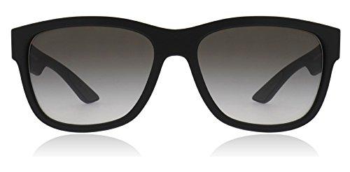 Prada Linea Rossa Men's Black Rubber/Grey Gradient