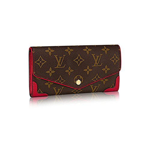 Authentic Louis Vuitton Monogram Canvas Sarah Wallet Retiro Article