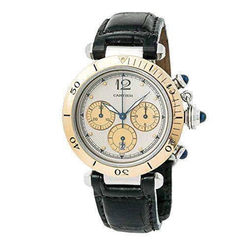 Cartier Pasha Quartz Male Watch (Certified Pre-Owned)