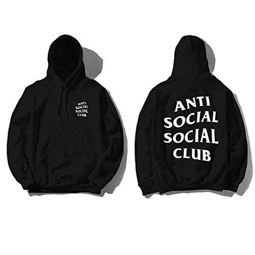 WildThornCO Anti Social Club Hoodie