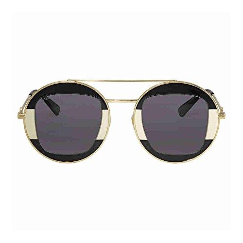Gucci GG SILVER/GREY GOLD Sunglasses