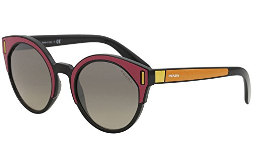 b19f7a0fb Prada Women's Colorblock Sunglasses, Fuchsia Multi/Grey, One Size ...