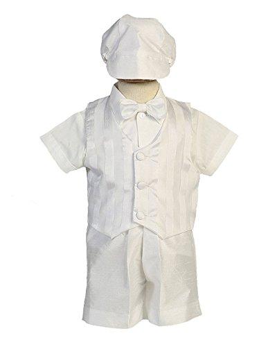 Baby Toddler Boys Christening Vest & Bowtie w/Short Set Infant-Toddler Richard L
