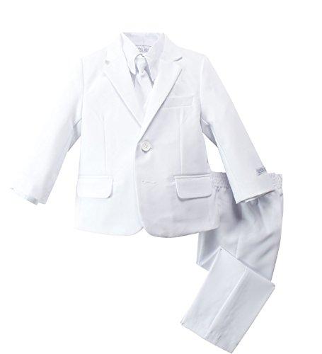 Spring Notion Baby Boys' Modern Fit Dress Suit Set Large/12-18M White