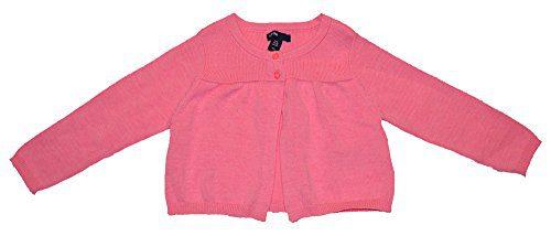Baby Gap Girls Pink Shirred Flare Cardigan Sweater 0-3 Months