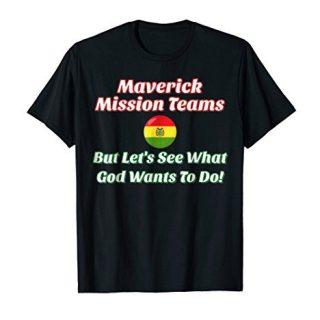 Maverick Mission Teams (Font Bolivian Flag Red and Green)